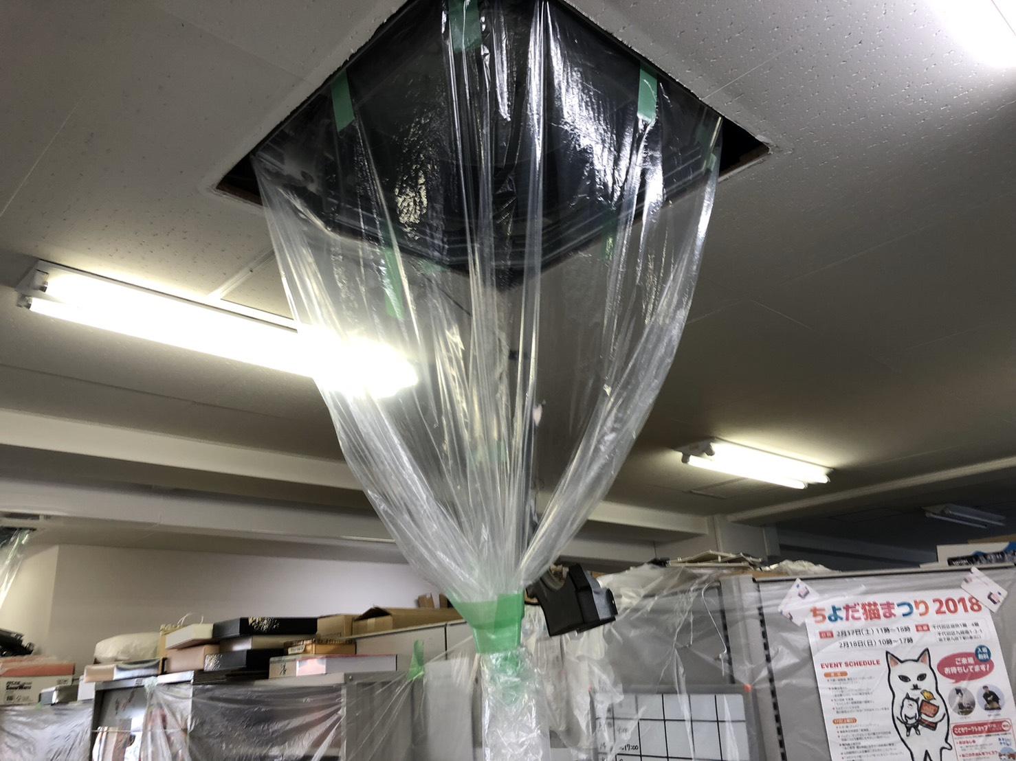天井埋込エアコンクリーニング 千葉